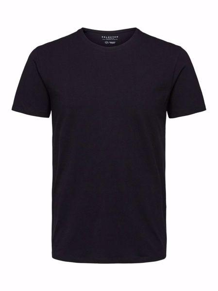 Selected O-hals t-shirt