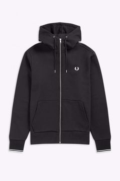 Fred Perry sweat m/hætte